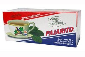 Pajarito Mate Cocido 25 Tea Bags 16 Pack by Pajarito