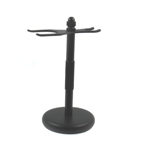 SimplyBeautiful Deluxe Razor and Brush Stand, Black