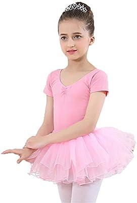 Faldas de danza para niña, Baby Girls Camiseta de manga corta de ...