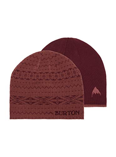 Burton Women's Belle Beanie, Rose Brown/Port Royal, One Size
