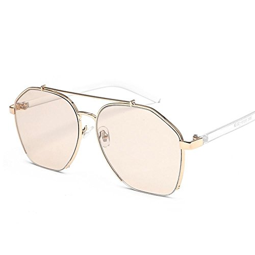 gafas Metal de de sol y Unidos gafas gafas de moda disparar sol Estados G hombres chao de street viento mar Aoligei Europa qaXvzz