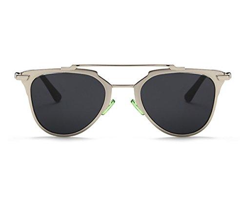 Heartisan Retro Anti-UV Oval Lens Full Rim Frame Sunglasses for Womens - Faces For Men Fat Sunglasses