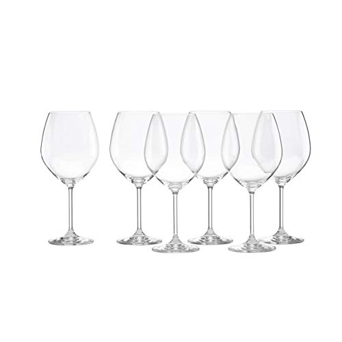 Tuscany Classics Red Wine Glass (Set of 6) (Best Value Wine Glasses)