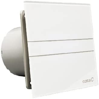 Cata | Extractor baño | Modelo e- 150 GT | Estractor de baño Serie e Glass | Bajo Consumo | Ventilador Extractores de aire alta Eficiencia Energética | Extractor baño silencioso