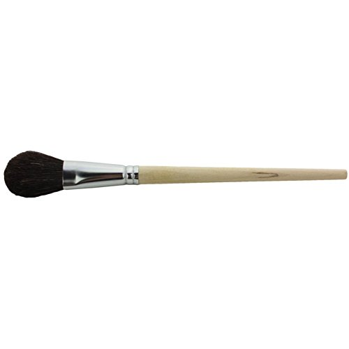 Midland Scientific JST 1930 EA Just man Brush Company Camel Hair Dome Brush with Aluminum Ferrule, 9