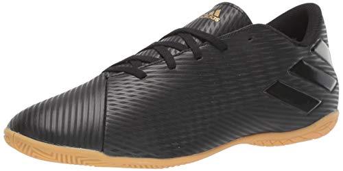 adidas Men's Nemeziz 19.4 Indoor Soccer Shoe, Utility Black, 11.5 M US