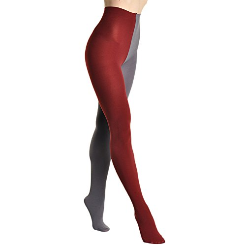 Angelina 2-Color Brushed Interior Thermal Tights #009_Gray and ()