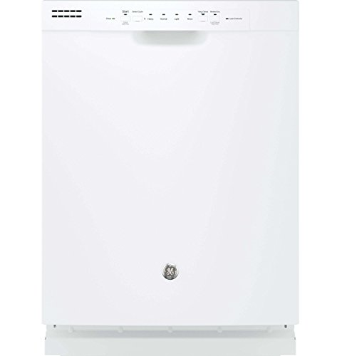 GE GDF510PGJWW 24″ Built In Full Console Dishwasher with 4 Wash Cycles, in White