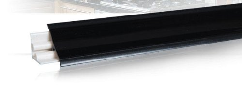Küchenleisten für arbeitsplatte  1,50m Küchenabschlussleiste 23x23 mm schwarz für Küchen ...