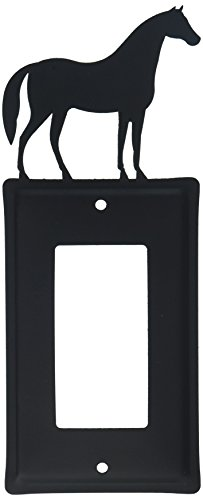 8 Inch Standing Horse Single GFI Cover