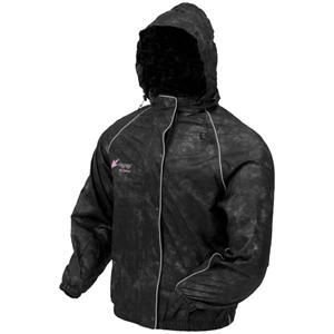 Frogg Toggs Women's Sweet T Rain Jacket - Medium/Black by Frogg Toggs (Image #1)