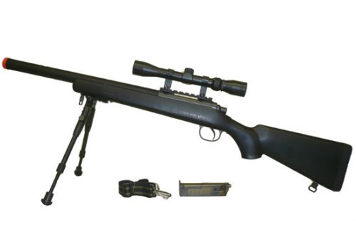 WELL VSR-10 Spring Airsoft Sniper Rifle - Well Airsoft