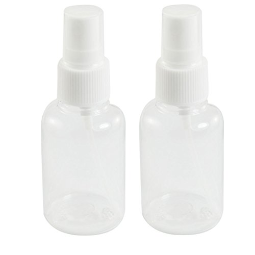 50ml-Perfume-Atomizer-Makeup-Cosmetic-Spray-Bottle-White-Clear-2pcs
