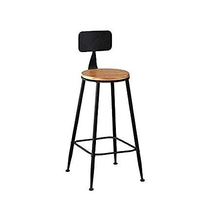 YT Chaises Mobilier Moderne Bar Tabouret Petit D/éjeuner Cuisine Style Industriel R/étro Style Industriel