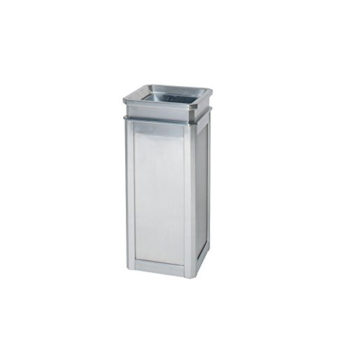 Rubbermaid Commercial Products FGDS12TSSS Designer Line Accents Waste Receptacle (5-Gallon, Stainless Steel) ()