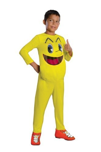 Pac-Man and The Ghostly Adventures Halloween Sensations Pac-Man Costume, Small by Rubie's (Pac Man Halloween Costume)