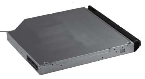 HP 652551-001 Blu-ray R/RE DVD+/-RW SuperMulti double-layer optical drive - SATA interface, 12.7mm tray load - Includes bezel and bracket - For use in the upgrade bay