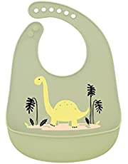 Super soft antibacterial silicone baby bibs