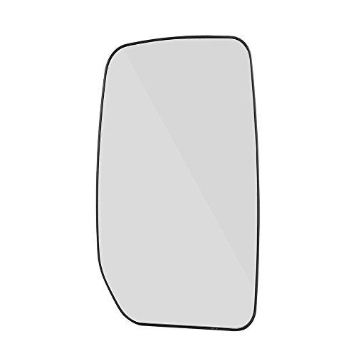 Espejo retrovisor retrovisor para puerta de coche, lado derecho del conductor con placa trasera para Ford Transit 2000-2013