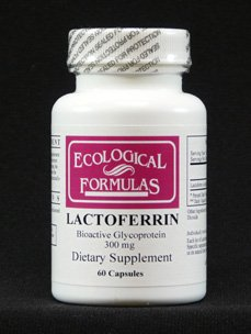 Ecological Formulas Lactoferrin 300 Mg 60 Caps by Ecological Formulas
