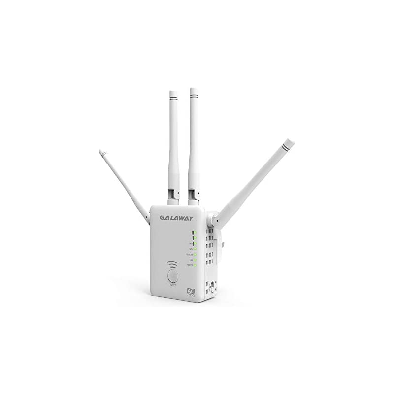 GALAWAY 1200Mbps WIFI Repeater With 4 Ex