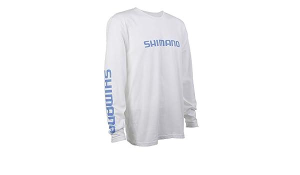 SHIMANO Long Sleeve Cotton Tee Fishing Gear: Amazon.es: Ropa y ...