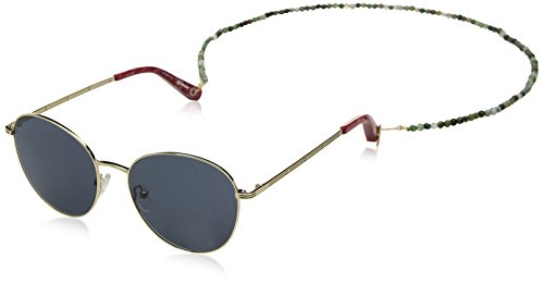 Elizabeth and James Women's Gilmour Round Sunglasses, Gold, 53 - Sunglasses James
