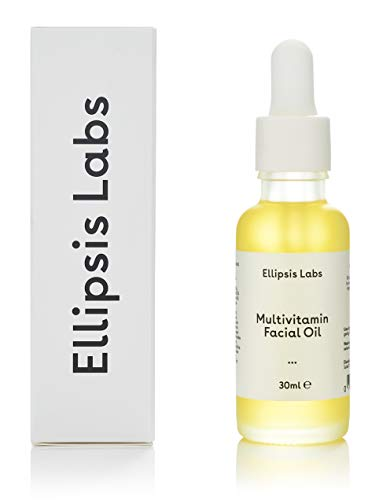 Multivitamin Facial Oil by Ellipsis Labs. Packed full of vitamins, all working together to rejuvenate and hydrate your skin, deep anti aging moisturizer (Best Anti Aging Facial Oil Uk)