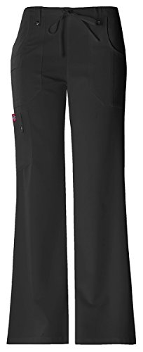 New Dickies Black Belt (Dickies Women's Moderate Mid Rise Drawstring Cargo)