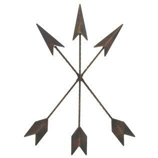 - Cast Iron Native American Arrow Wall Decor