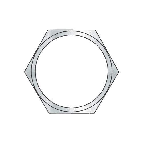 1/8''-27 x 3/16'' (9/16'' AF) Panel Nuts/Steel/Zinc (Quantity: 2000) by Newport Fasteners