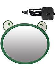 Espelho retrovisor de segurança para carro, retrovisor para assento de carro, retrovisor interior automotivo para bebês, ajustável 360° com segurança para crianças no assento traseiro do carro