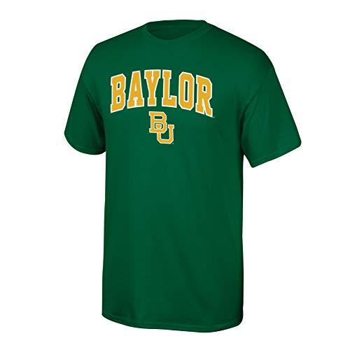 Baylor University - Elite Fan Shop NCAA Men's Baylor Bears T Shirt Team Color Arch Baylor Bears Green Medium