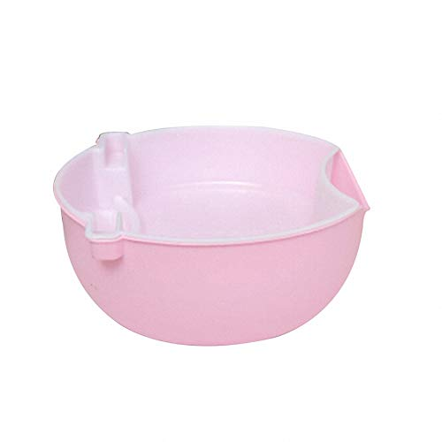 Creative Home Comport Multi-Function Fruit Tray Drain Portable Kitchen Tool (Pink)
