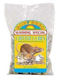 Sun Seed Company SSS17400 Sunthing Special Critter Cubes Treat, 50-Pound by Sun Seed