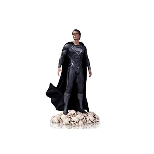 Sdcc Exclusive Statue - DC 2013 SDCC Man of Steel Black Variant Exclusive Superman 1/6 Scale Statue by Collectibles