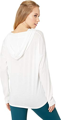 Beyond Yoga Women's All About It Tied Hoodie White Medium by Beyond Yoga (Image #2)
