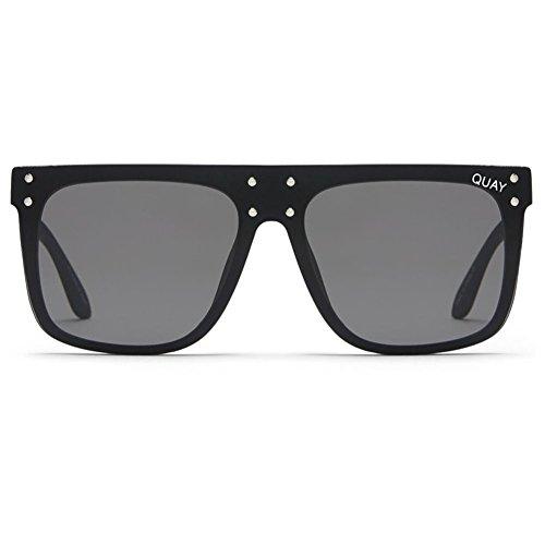 Quay x Kylie Jenner Hidden Hills Sunglasses | Oversized Frames - Mirror Lens | UV - Jenner Sunglasses Kylie Gold