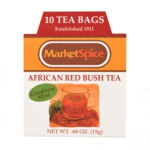 Tea - Cranberry-Mint African Redbush - 0.85 oz/10 Teabags