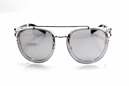 Dior Homme Lunettes de soleil Blacktie 143S Cut Pour Homme Khaki / Black / Yellow, Green Gradient Mirror E42/3C: Crystal / Transparent Grey