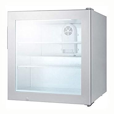Summit SCFU386 Glass Door Compact Display Freezer