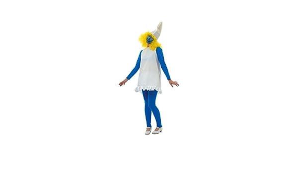 Disfraz de pitufina. Talla 42/44.: Amazon.es: Juguetes y juegos