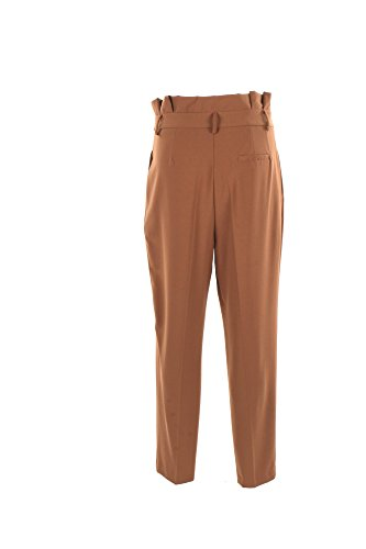 Pantalone Donna Vicolo L Marrone To0515 Primavera Estate 2017