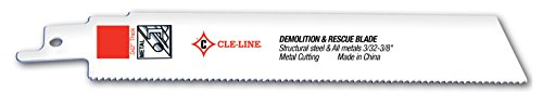 Cle-Line C30104 RSB-D Demolition Recip, 14T, Straight, 7/8