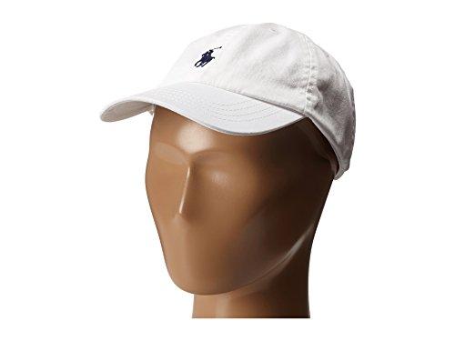 (Ralph Lauren Polo Boys Classic Pony Logo Hat (4-7 Little Kids, White/Navy Pony))