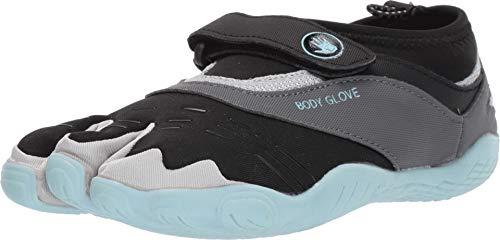 c2f0de774f44 Body Glove Women's 3T Barefoot Max Water Shoe, Black/Glacier Mint, 8