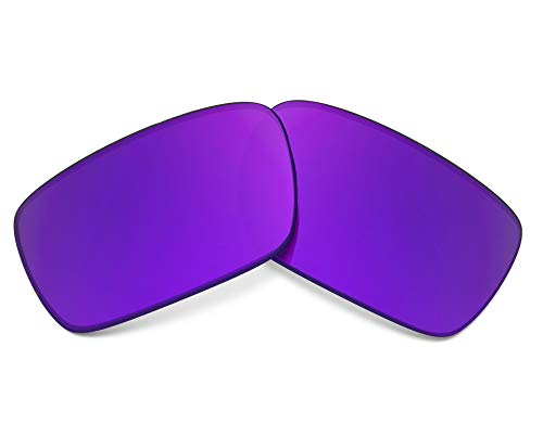 CRANKCASE Replacement Lenses Polarized Purple Mirror by SEEK fits OAKLEY