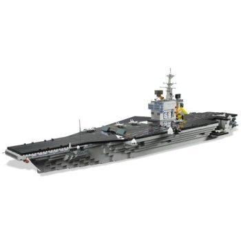 Mega Bloks Pro-Builder USS Nimitz Aircraft Carrier