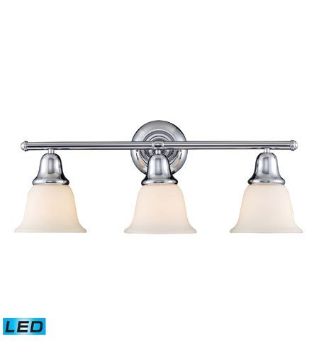Bathroom Vanity 3 Light LED with Polished Chrome Finish 27 inch 40.5 Watts - World of Lamp