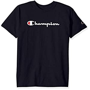 Champion Boys' Big Kids Script Tee